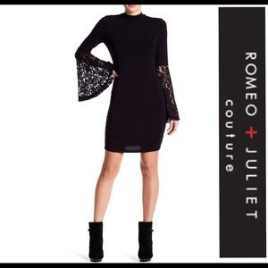 Romeo and Juliet Couture•Lacey Bell Sleeve Dress😍